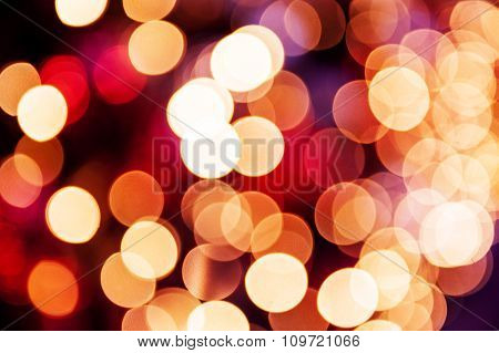 Abstract Blurred Christmas Colorful Background