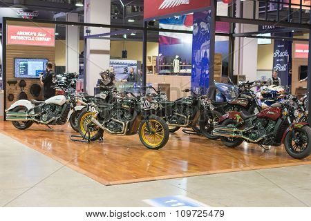 Indian Motocycle Stand