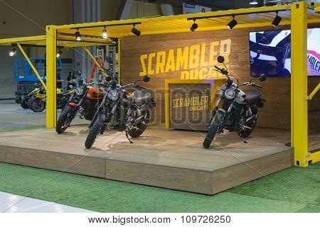 Scrambler Ducati Stand