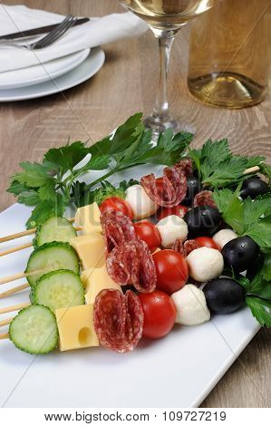 Canape On A Skewer