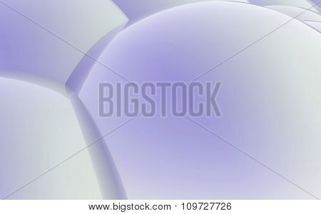 3D Purple Abstract Spheres Background
