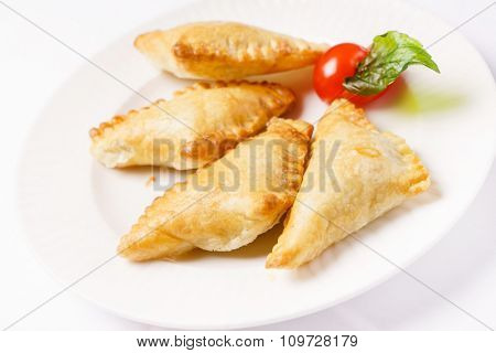 Puff pastry with mushrooms