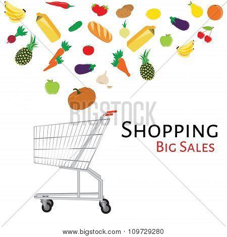 Shopping Cart Vector