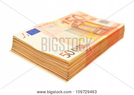 50 Euro Bills