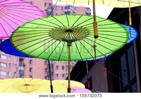 Chinese Oil Paper Umbrellas