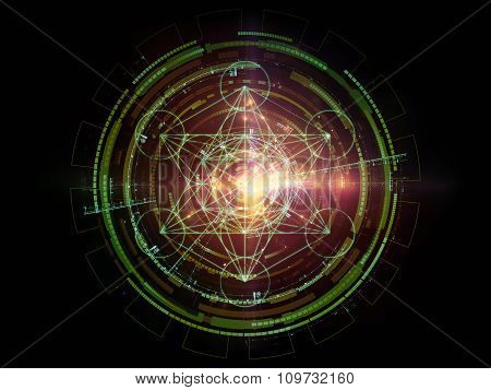 Visualization Of Sacred Geometry