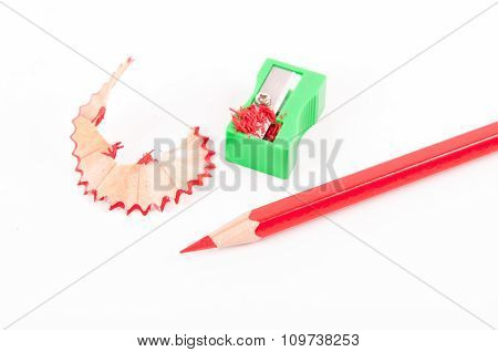 Crayon With Sharpener