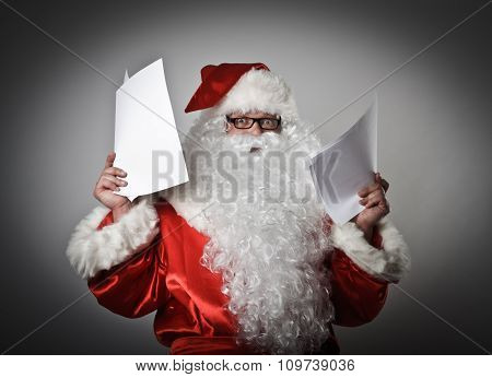 Santa Claus And Letters
