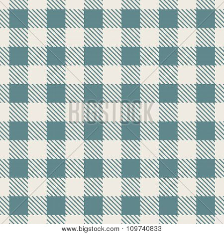 Scottish Plaid Fabric Background For Seamless Pattern. Vector Illustration.