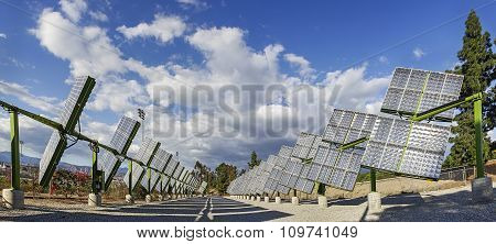 Trackers Solar Panels
