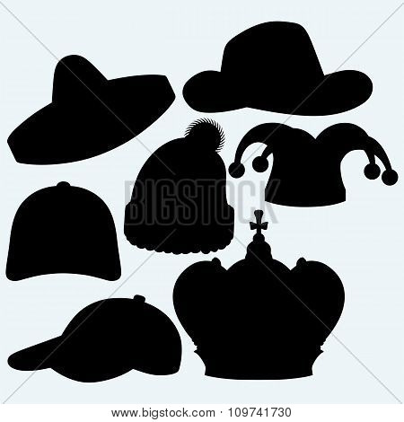Set of headgear