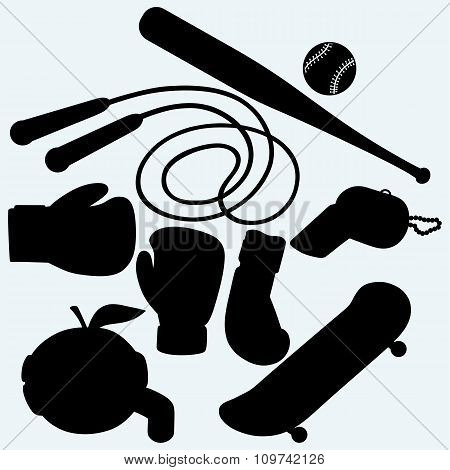 Set sporting goods