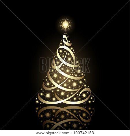 Christmas Tree, vector eps9.