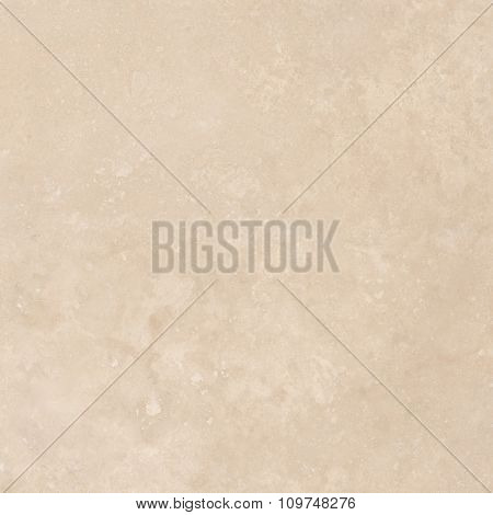 Light beige travertine natural stone texture background. Approximately 2 by 2 foot area.