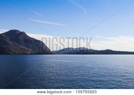 Lake With Mountains