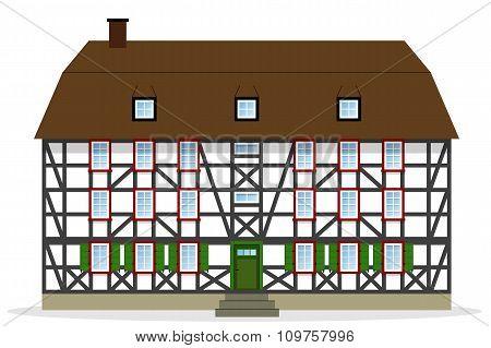 Nice Half-timbered House