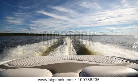 Trace From The Boat