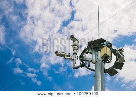 Outdoor Surveillance Camera System