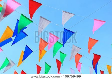 Colorful Bunting Background