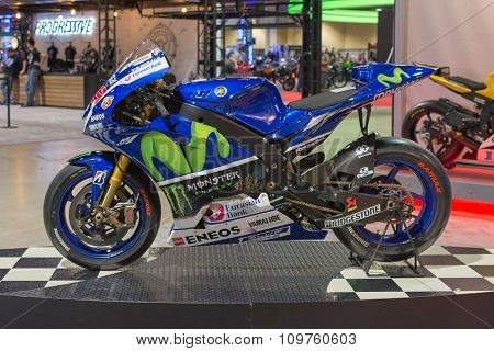 Yamaha Yzr-m1 Movistar Team