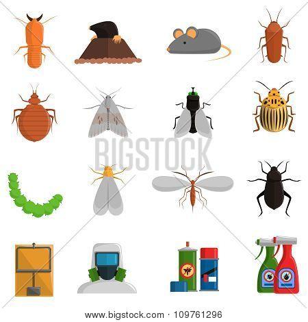 Pest Icons Set