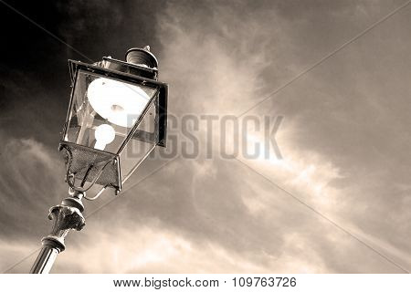 Abstract Europe In The Sky Of Italy Lantern And  Illumination