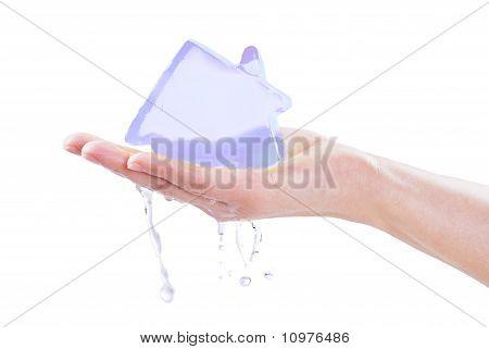 Melting Icy House