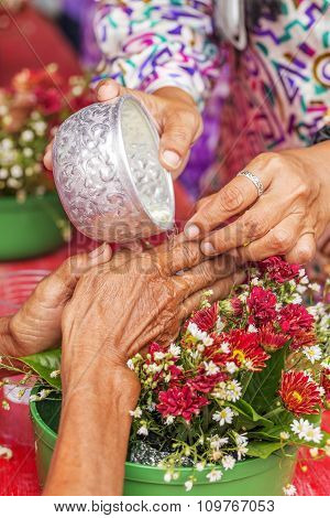 Songkran Ceremony, Thai New Year