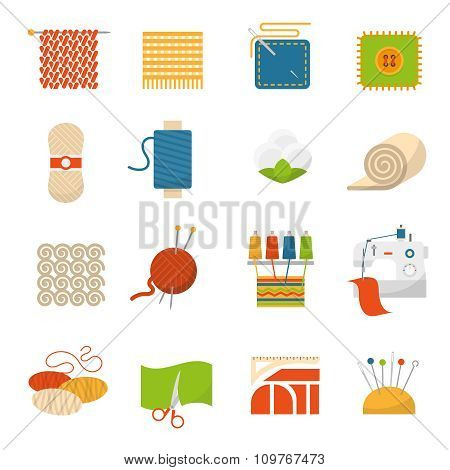 Textile Industry Icons