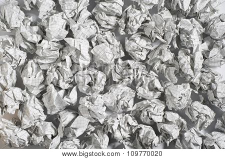 Background Of Paper Balls