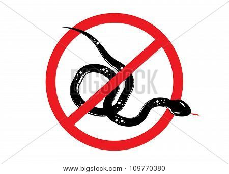 sign danger,Snake