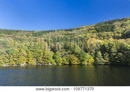 Rur Lake In Summer, Germany
