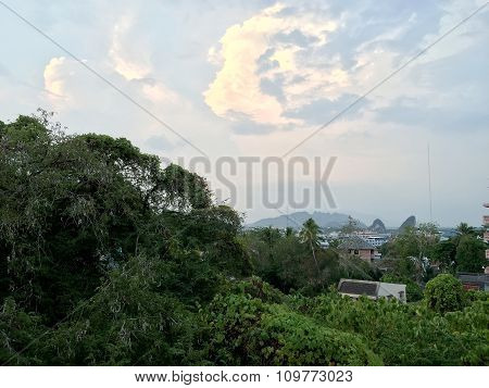 Aerial View In Krabi