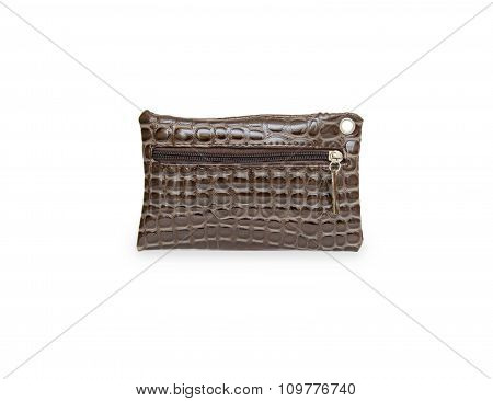 Wallet Or Purse Woman  On A White Background