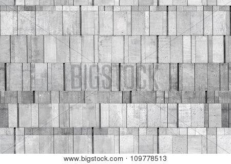 Gray Concrete Wall, Seamless Background Photo Texture