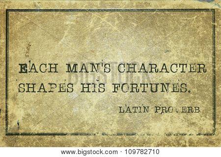 Each Man Character Lp