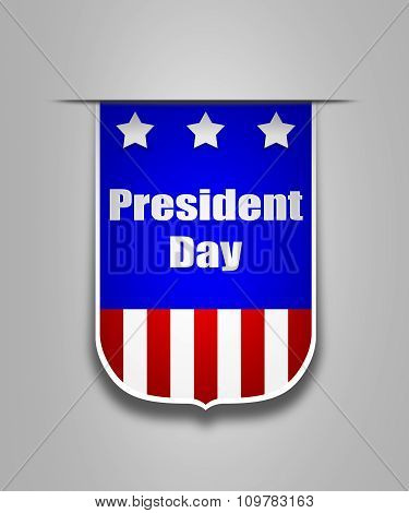 Ribbon On The American President Day