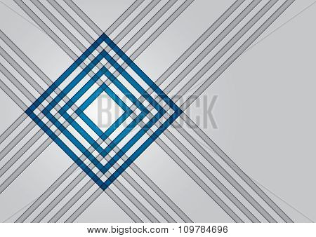Technical Background With Red Square