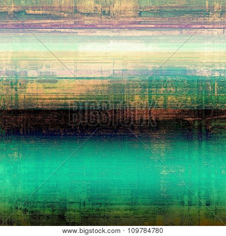 Rough grunge texture. With different color patterns: yellow (beige); black; blue; purple (violet); green