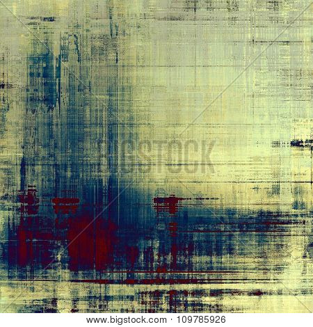 Old and weathered grunge texture. With different color patterns: yellow (beige); blue; purple (violet); gray