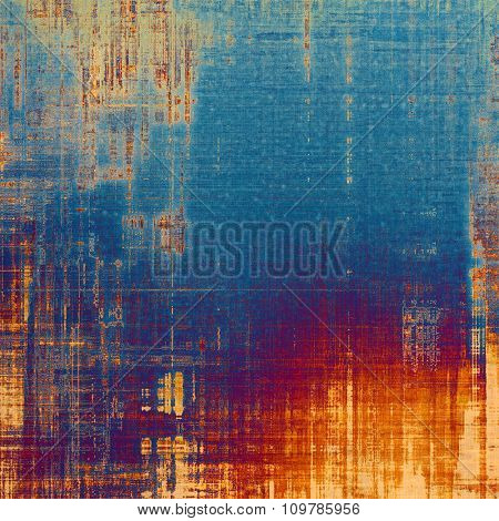 Beautiful vintage background. With different color patterns: yellow (beige); red (orange); blue; purple (violet)