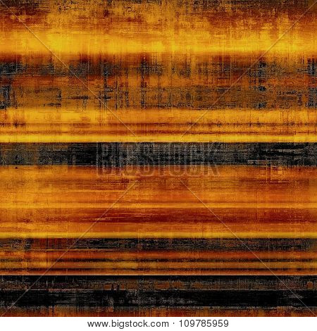 Abstract blank grunge background, old texture with stains and different color patterns: yellow (beige); brown; red (orange); black