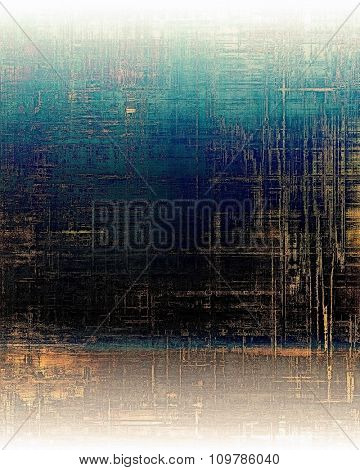 Vintage old texture for background. With different color patterns: yellow (beige); black; blue; white