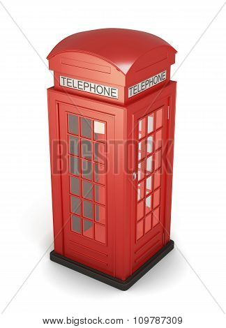 3D Phone Booth.