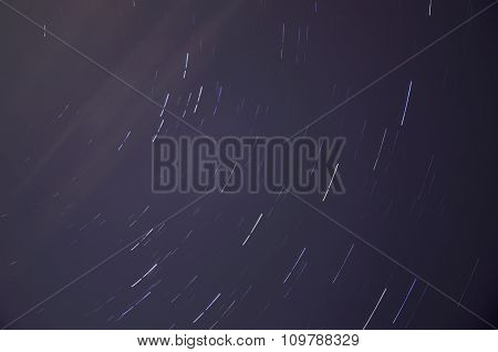 Star Tracks Sky Space
