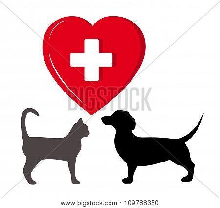 pet veterinary symbol
