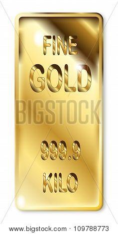 Fine Gold Ingot