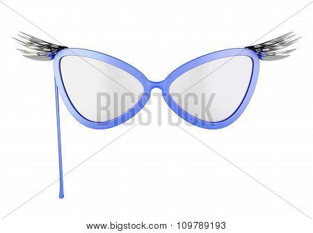 Glasses-mask. 3D.