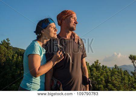 Hiker's Couple