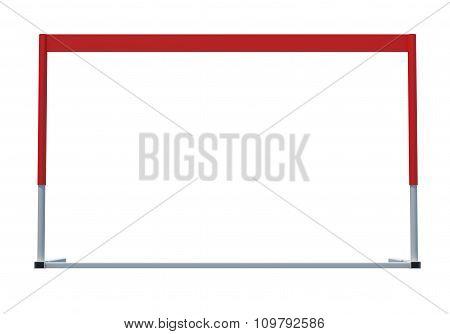 Treadmill barrier, side view